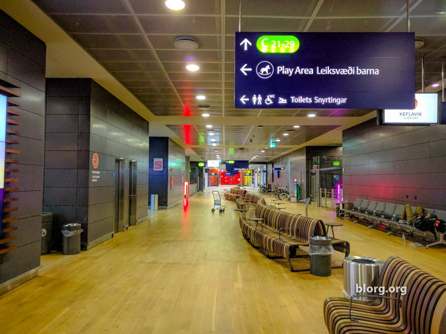 Sleeping in Airports: Iceland's Keflavik International Airport Iceland Airport