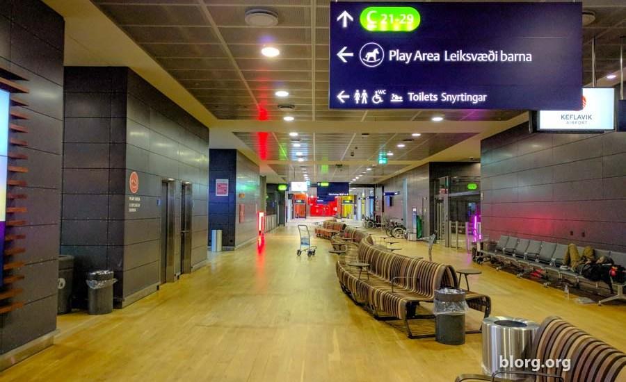 Sleeping in Airports: Iceland's Keflavik International Airport (KEF)