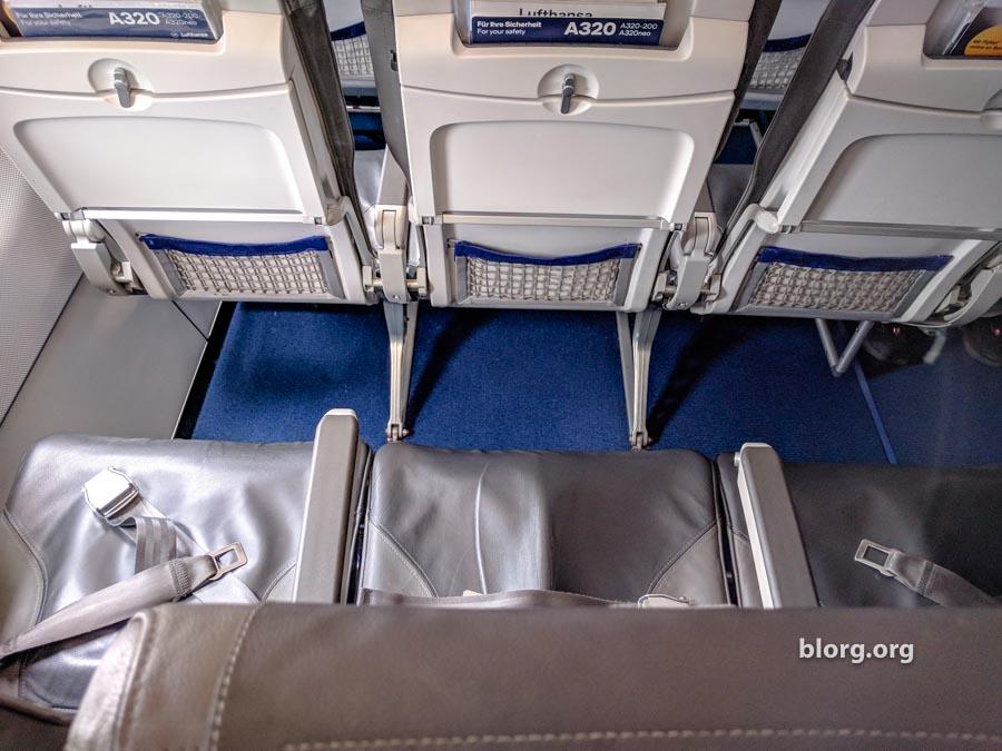 Anxiety Flying Lufthansa A320 Economy: Dublin to Malta (via FRA)