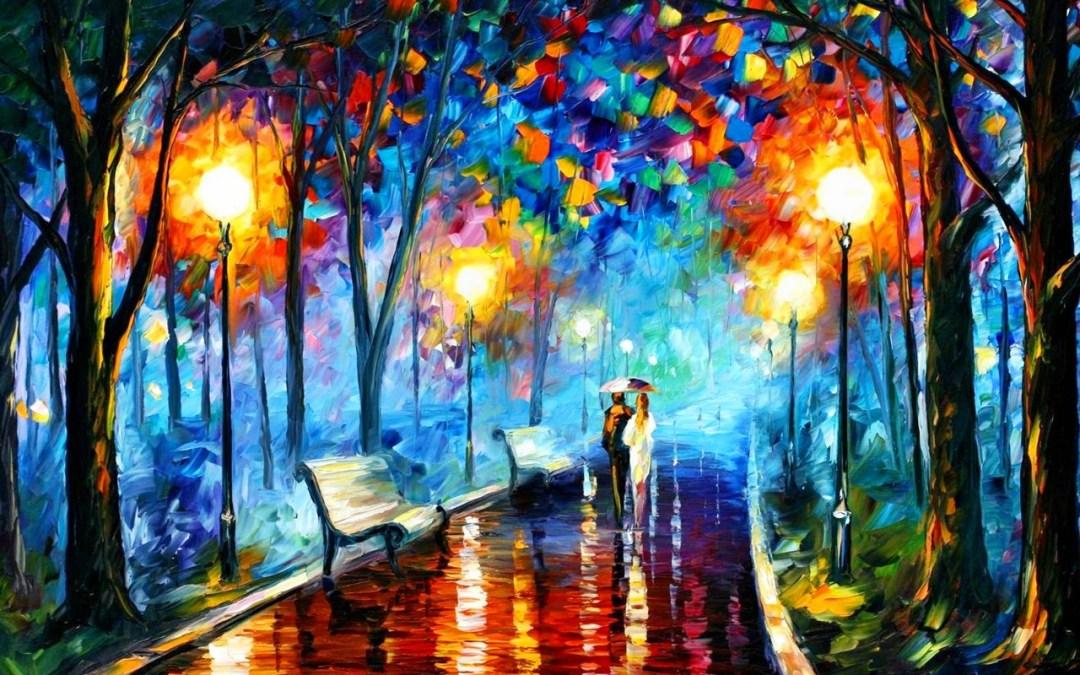 Walking Through The Rain