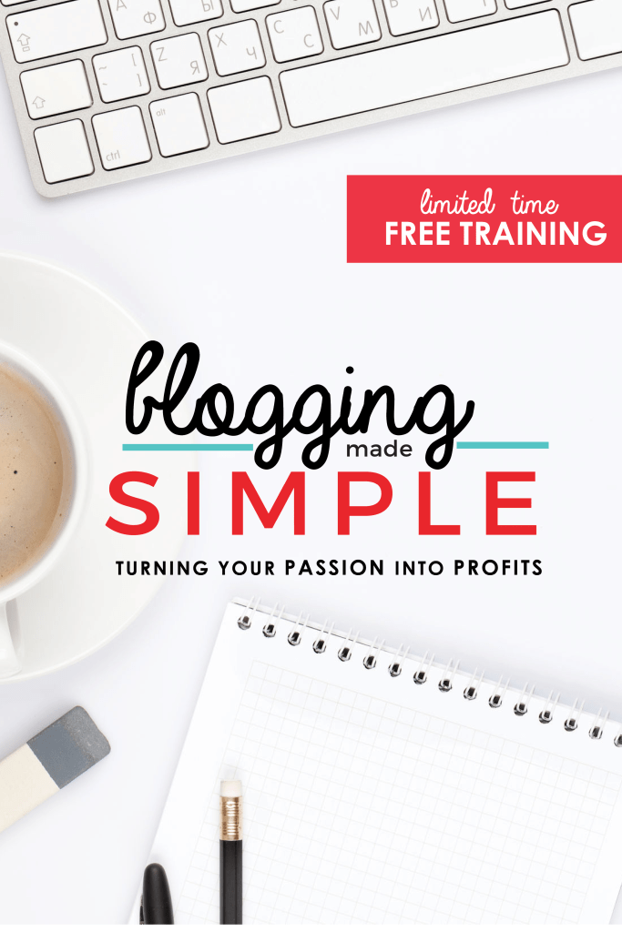 Blogging Made Simple - Free training available for a limited time!