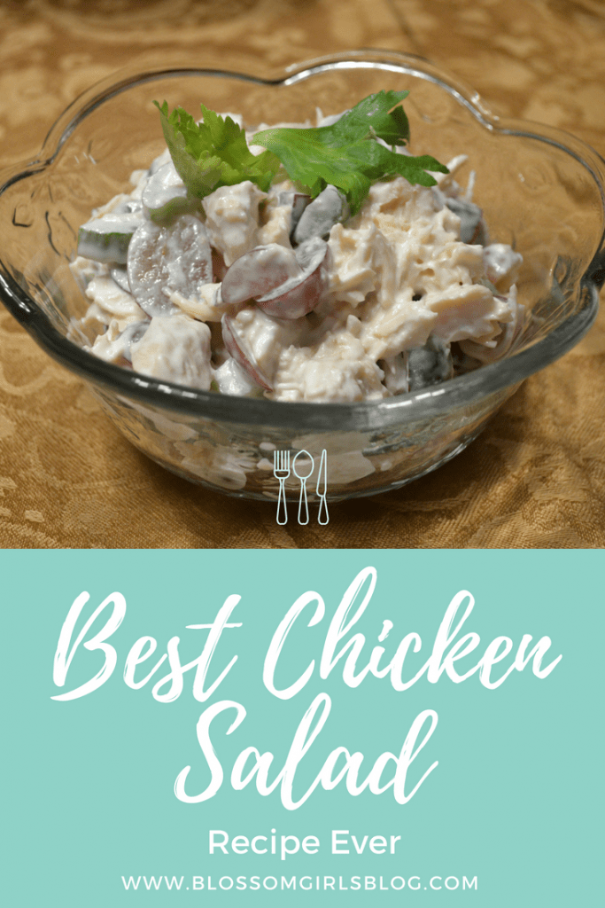 Best Chicken Salad Recipe Ever - I love this chicken salad so much! I should go make some now!