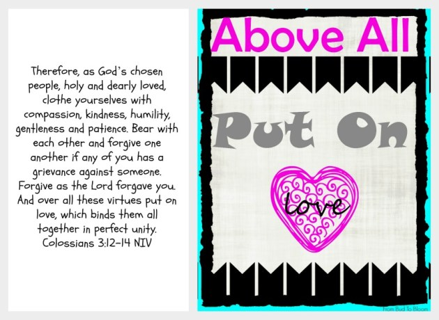 above all put on love