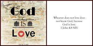 god is love card