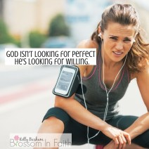 God isn't looking for perfect