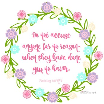 Proverbs 3:30