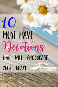 10 devotional books that will inspire your walk with Jesus and encourage your heart.