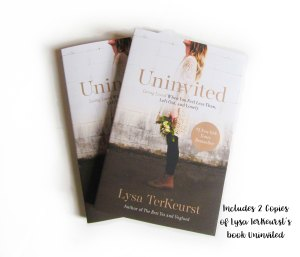 Uninvited Book by Lysa Terkeurst
