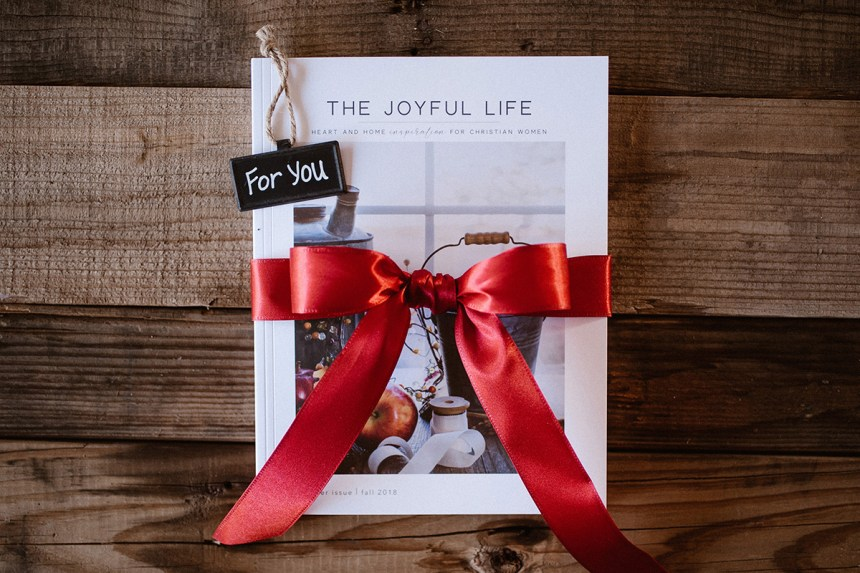 Joyful Life Magazine Gift Subscription