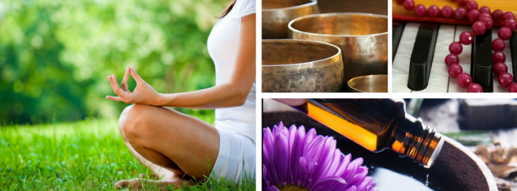 Meditation Workshop with sound and essential oils