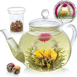 The Teabloom Glass Teapot Is A Lovely Gift For Your Elderly Mom And Dad Lets Be Honest You Probably Need To More Concerned With Buying Something