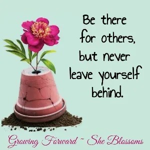 Who You Were Created to Be - Step 3 She Blossoms
