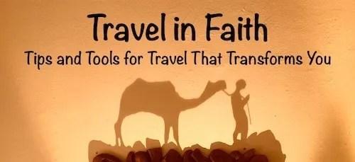 Travel in Faith blog for travelers