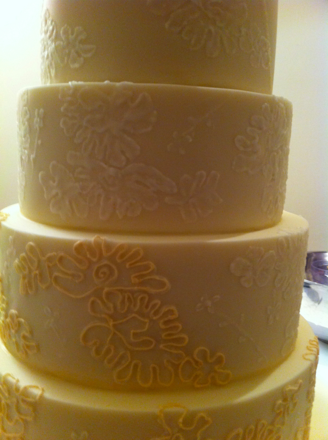 Its All In The Details Creating A Lace Effect Wedding