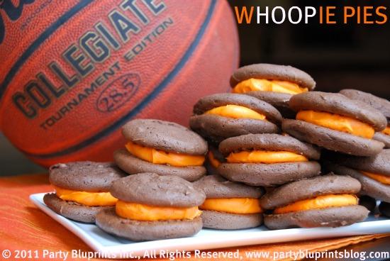 Basketball wHOOPie Pies