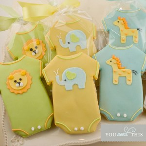 Adorable Onesie Cookies