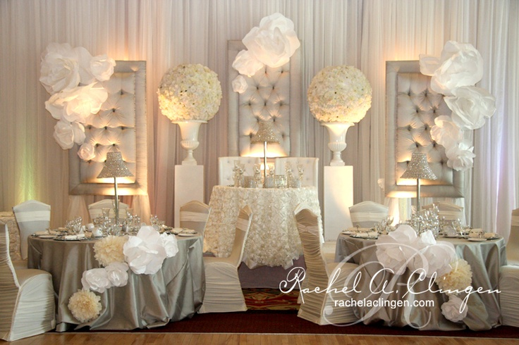 Modern Wedding Room Look