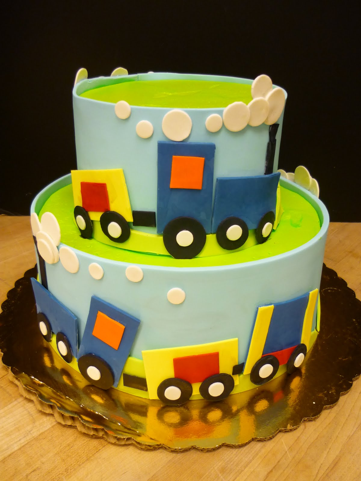train themed cake boys birthday cake children kid B Lovely Events