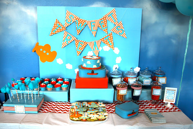 Come Fly With Me An Airplane Party B Lovely Events