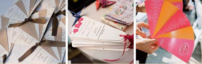 free wedding fan programs and free wedding fan program templates