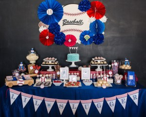 For the Lil' Slugger {Baseball Baby Shower!}