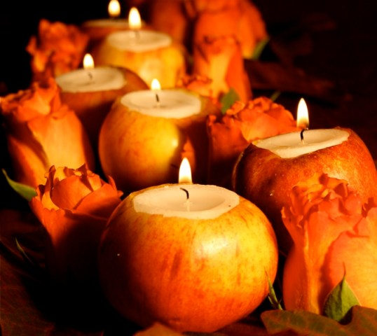 Apples candles for Fall