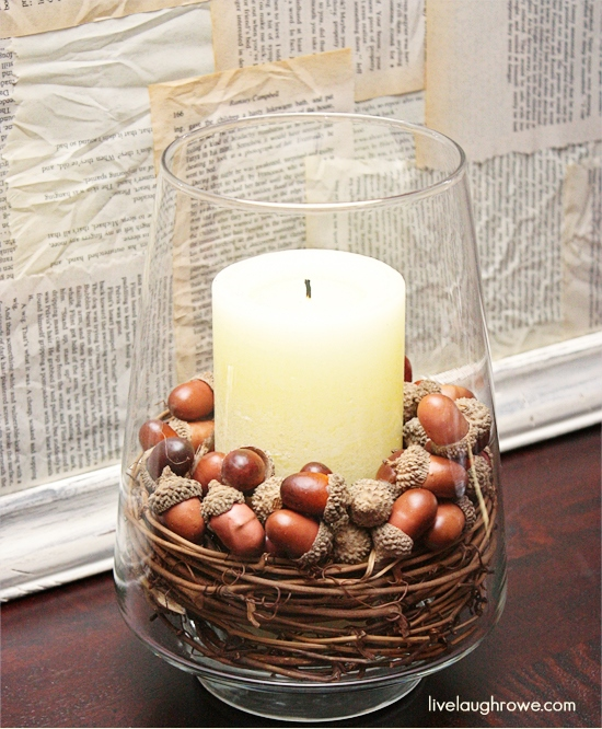 DIY Fall Inspired Decor with Nuts