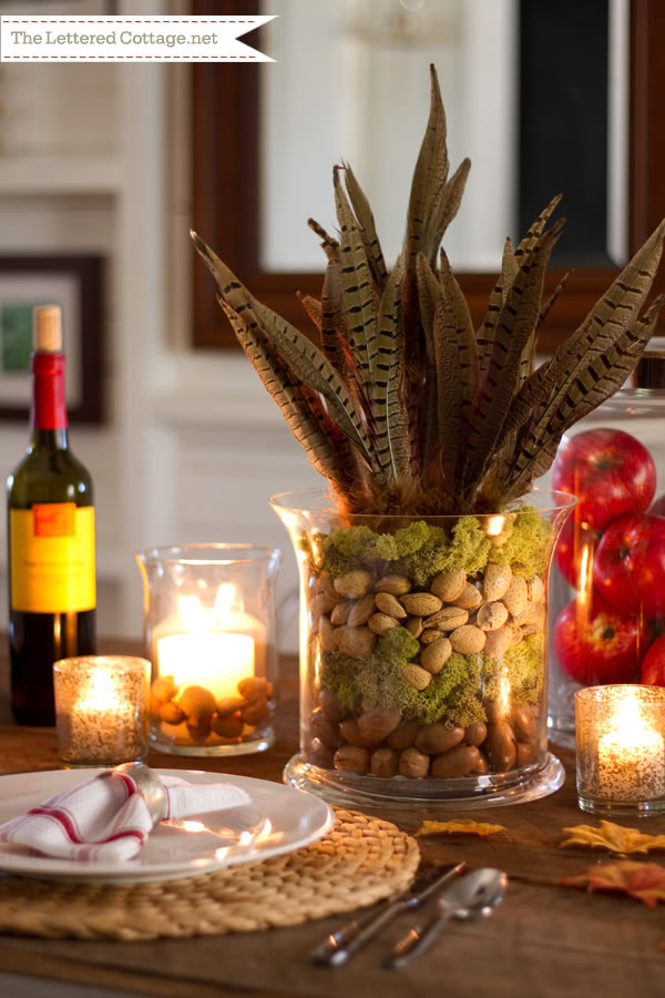 Fall Decorating With Nuts