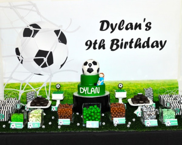 Soccer Party Foods-These Ideas Rock! - B. Lovely Events