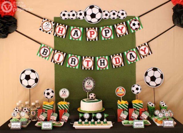 Soccer Birthday Printable Package-great set!