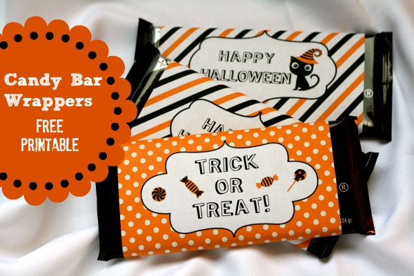 free mini candy bar wrapper template - eek free halloween printables b lovely events