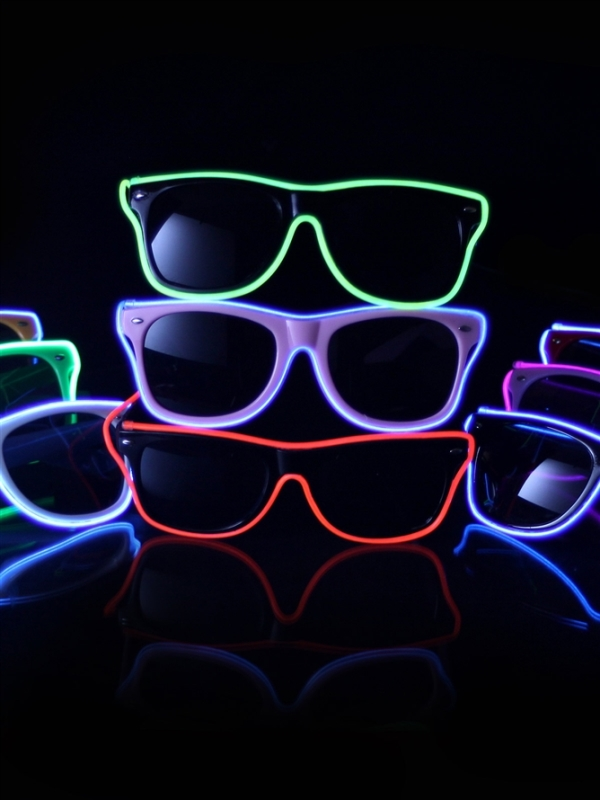 15 glow in the dark party ideas b lovely events light up sunglass for a glow in the dark party see more glow in the solutioingenieria Image collections