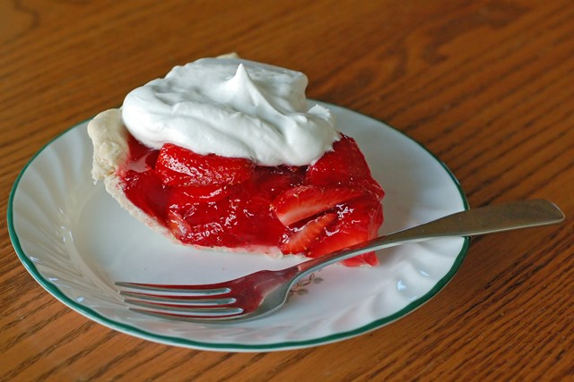 Berries and Whipped Cream Pie