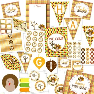 Yippie! Free Thanksgiving Printables!