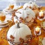 Thanksgiving Pumpkin Centerpieces!