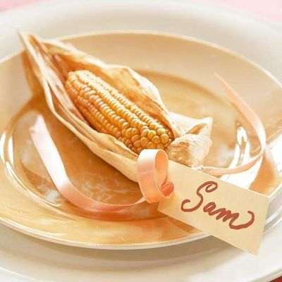 Thanksgiving Corn Placecards