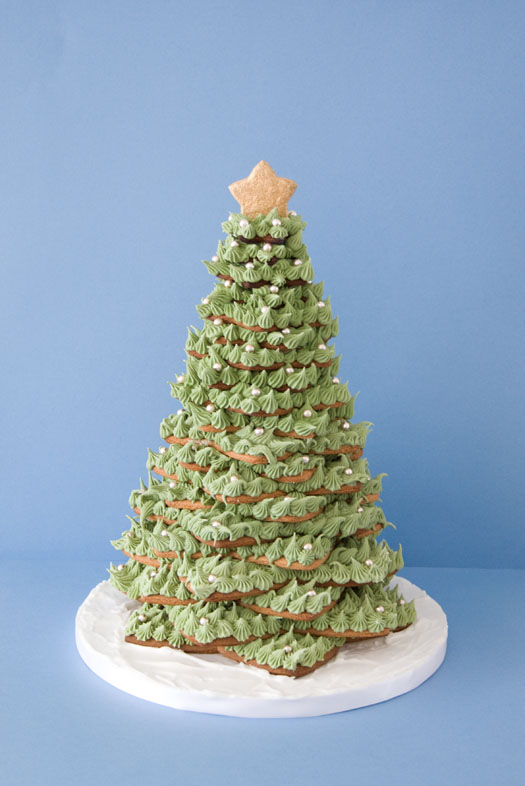 Stacked Christmas Tree cookies