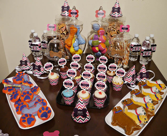 Adorable Dog Party ideas- B. Lovely Events