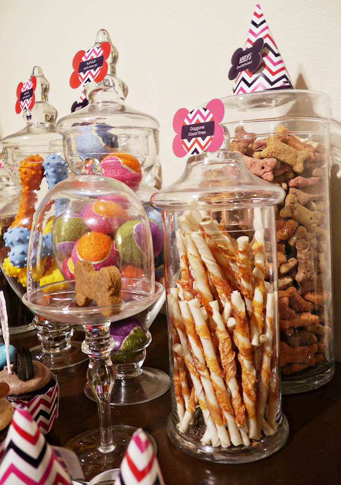 Dog party cute Ideas- B. Lovely Events