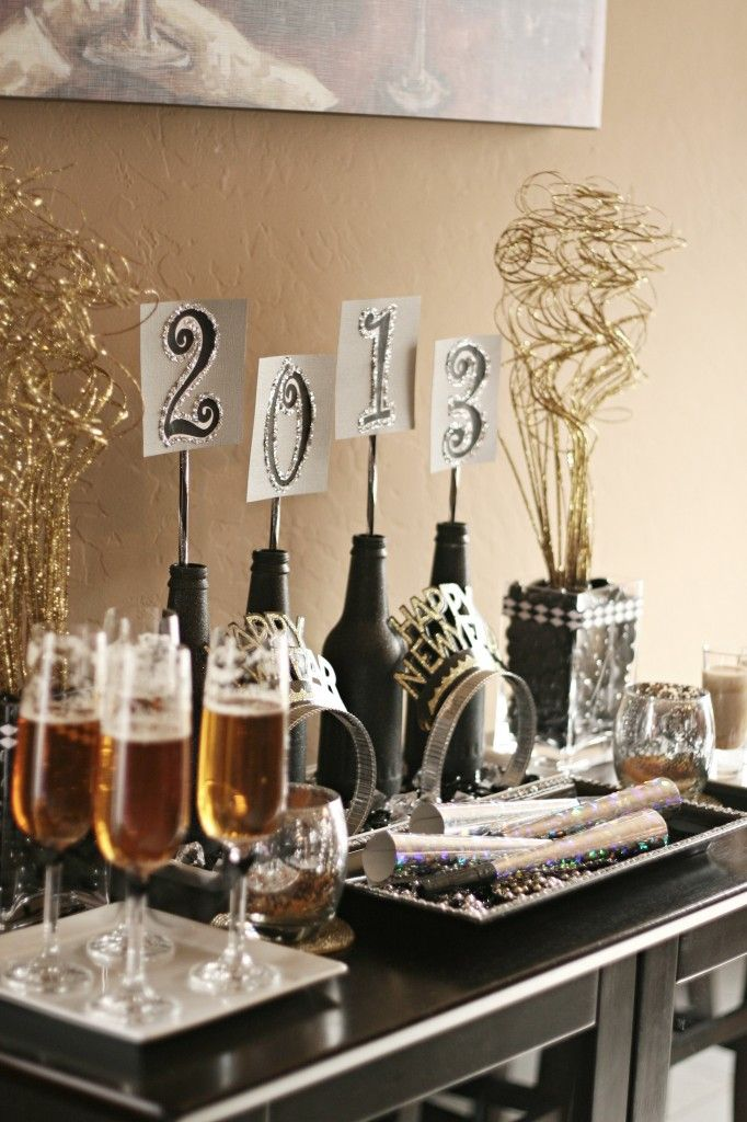 Fabulous New years Eve table set up
