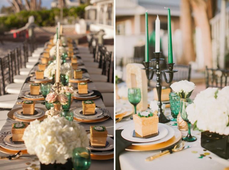Emerald Green & Gold Engagement!