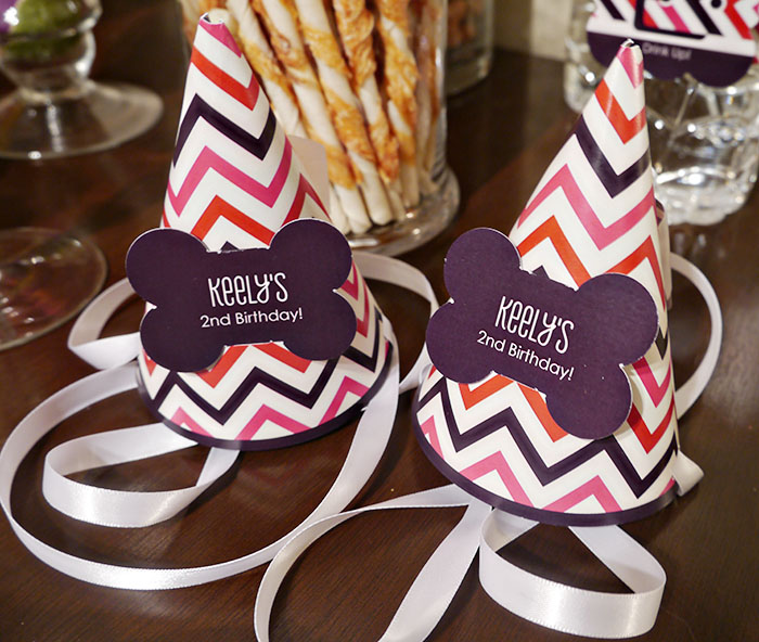 Lovely Dog party hats- B. Lovely Events