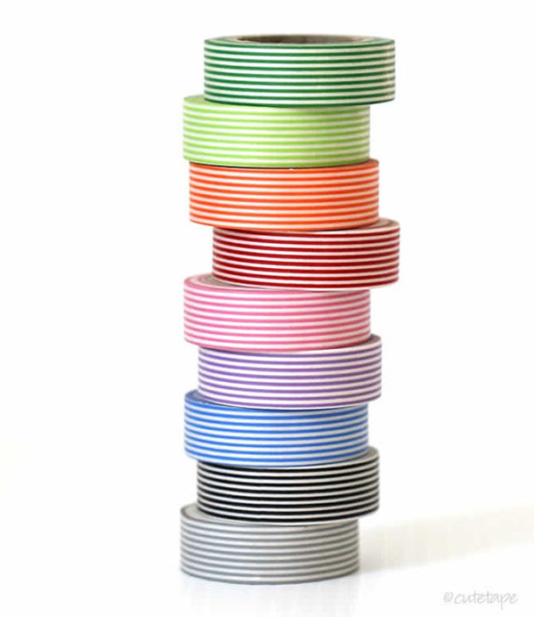 Striped Washi Tape!