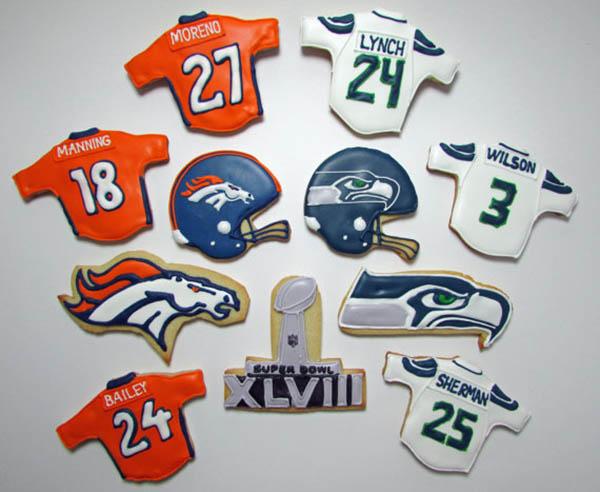 Super Bowl 48 cookies!