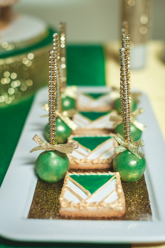 Emerald Green Amp Gold Engagement B Lovely Events