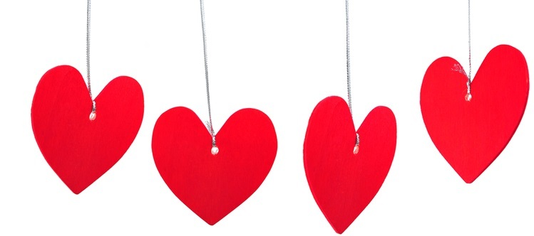 DIY Valentine Hearts