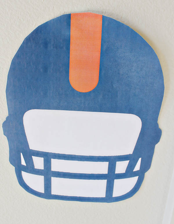 Football Party printable