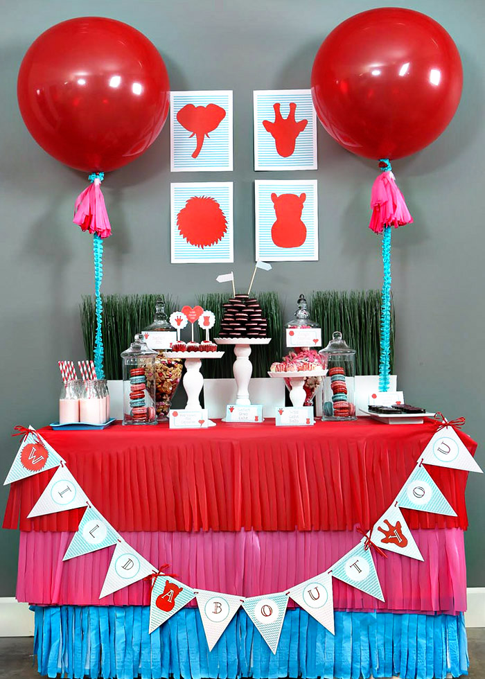 Wild About You Valentine's Dessert bar