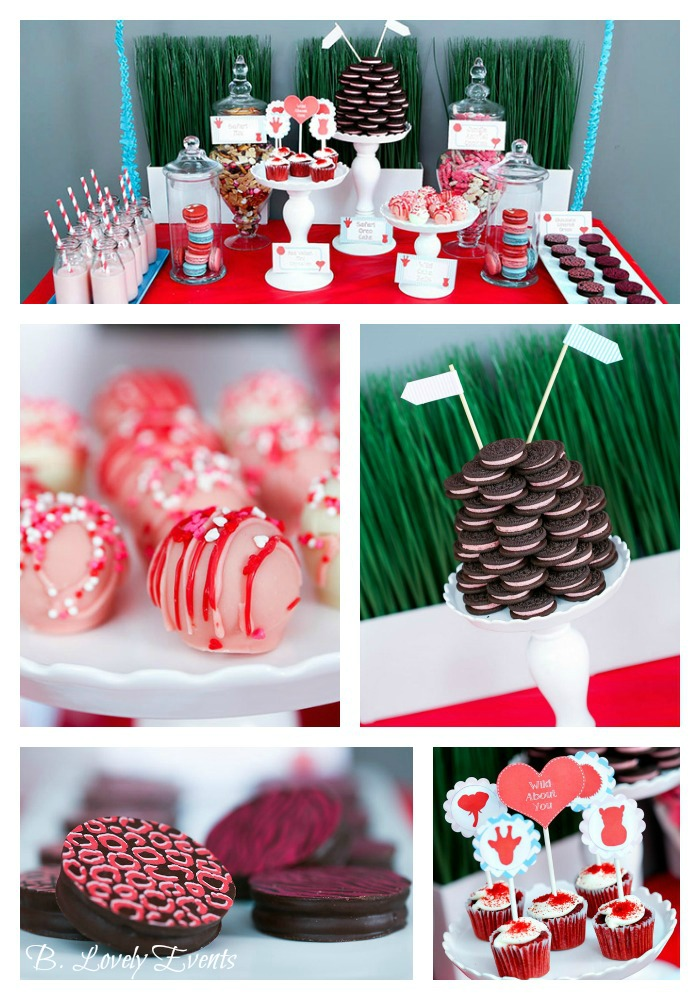 Wild About You Valentine's Party with too cute details!! - B. Lovely Events