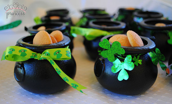Adorable pots of gold for St. patrick's day